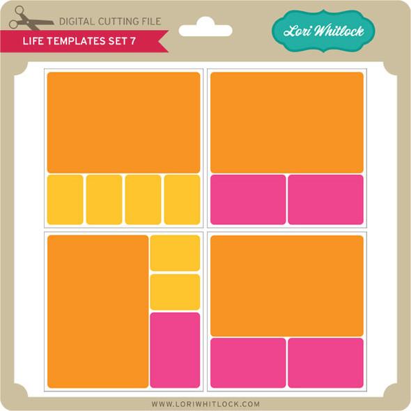 Life Templates Set 7