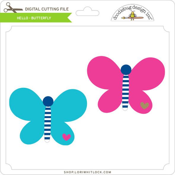 Hello - Butterfly