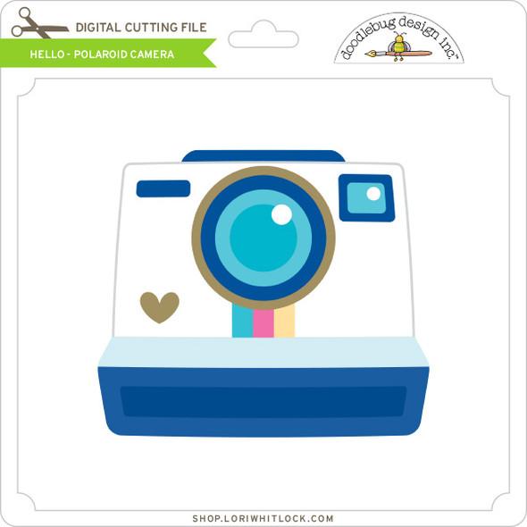 Hello - Polaroid Camera