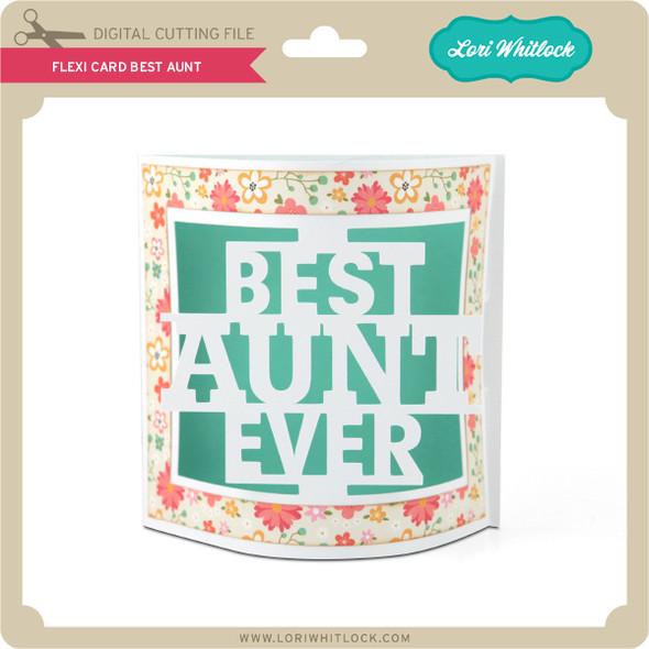 Flexi Card Best Aunt