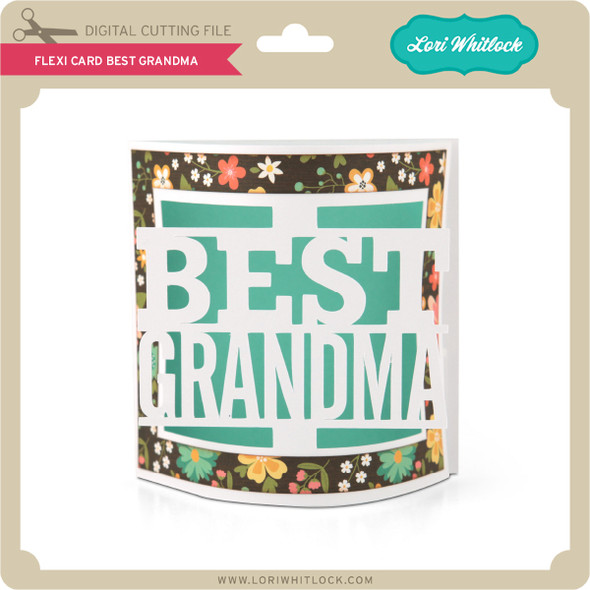 Flexi Card Best Grandma