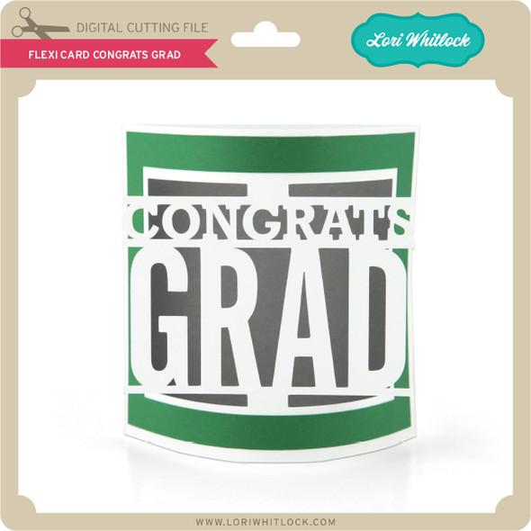 Flexi Card Congrats Grad