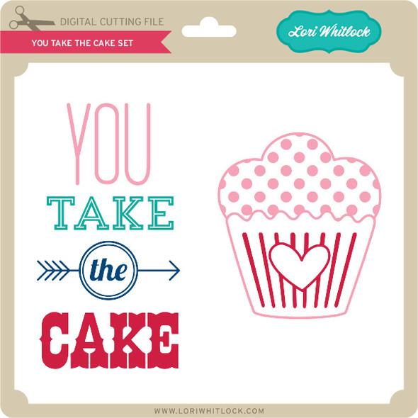 You Take the Cake Set