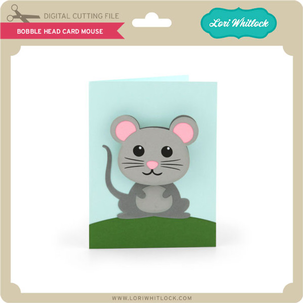 Bobble Head Card Mouse