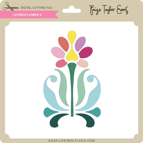 Layered Flower 3