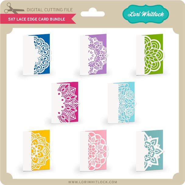 5x7 Lace Edge Card Bundle