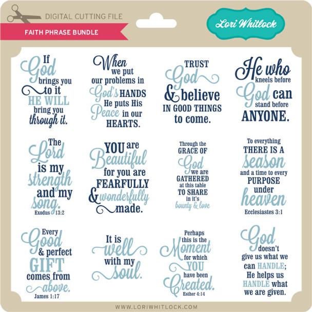 Faith Phrase Bundle