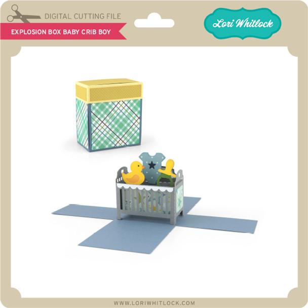 Explosion Box Baby Crib Boy