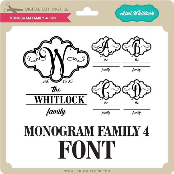 Monogram Family 4 Font
