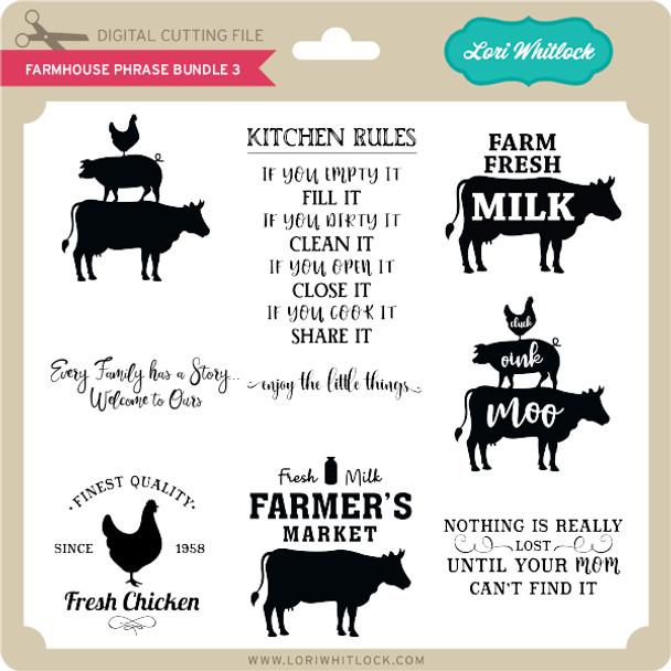 Farmhouse Phrase Bundle 3