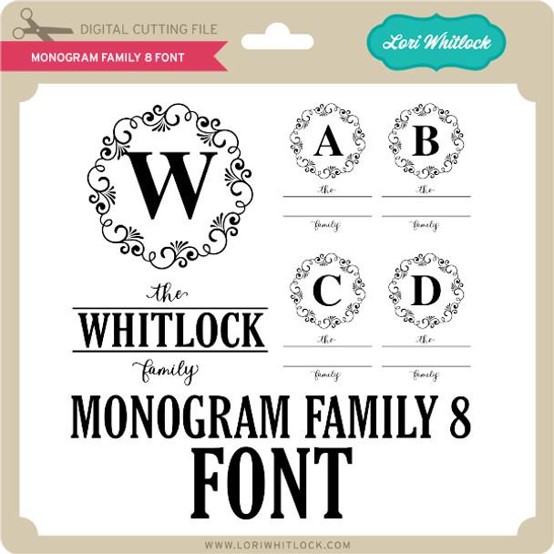 Monogram Family 8 Font