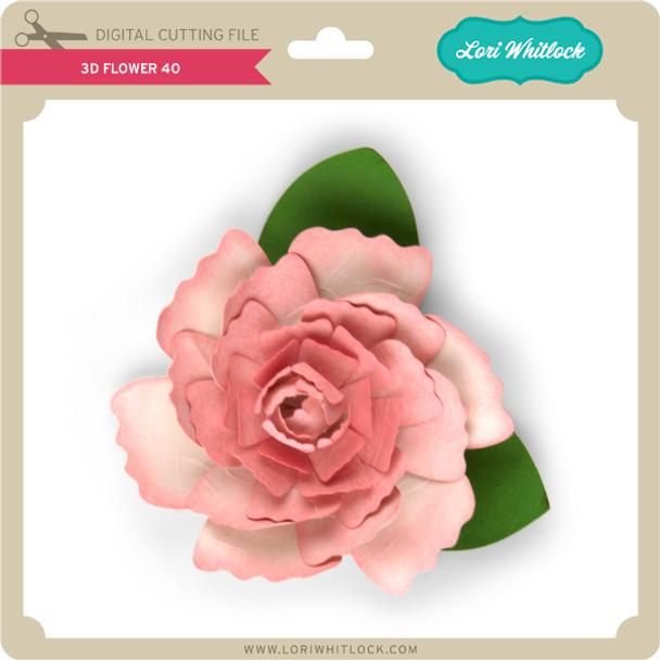 3D Flower 40