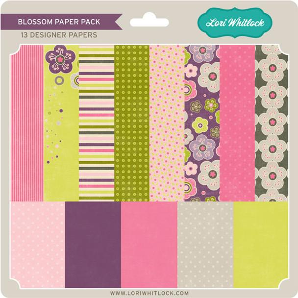 Pattern Fill Set Blossom