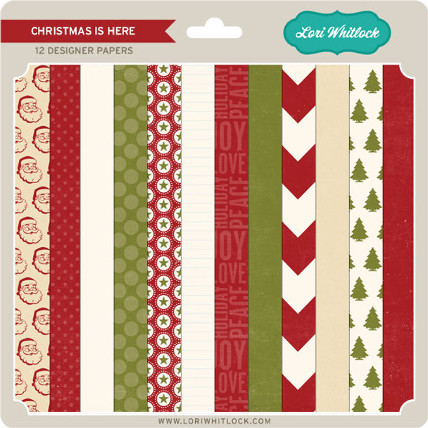 Pattern Fill Set Christmas is Here