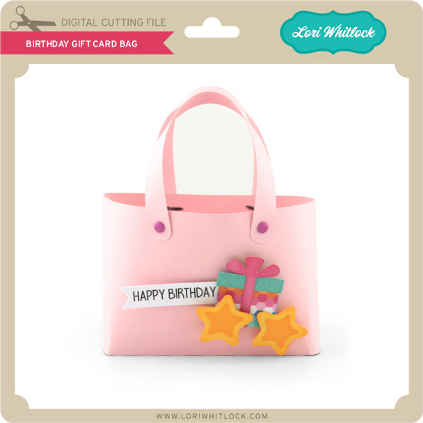 Birthday Gift Card Bag
