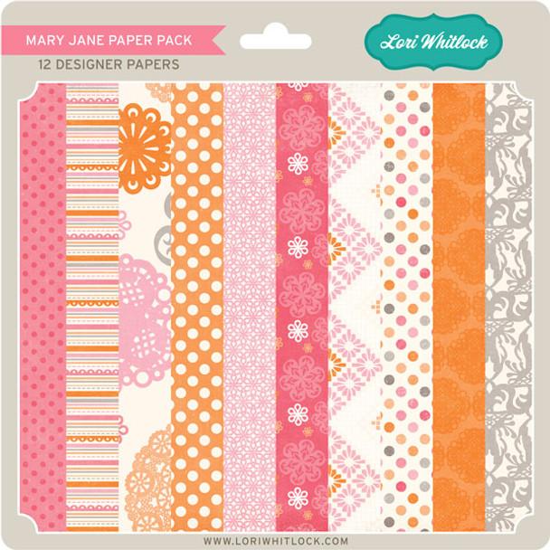 Pattern Fill Set Mary Jane