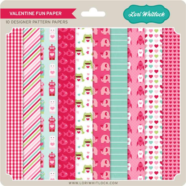 Pattern Fill Set Valentine Fun