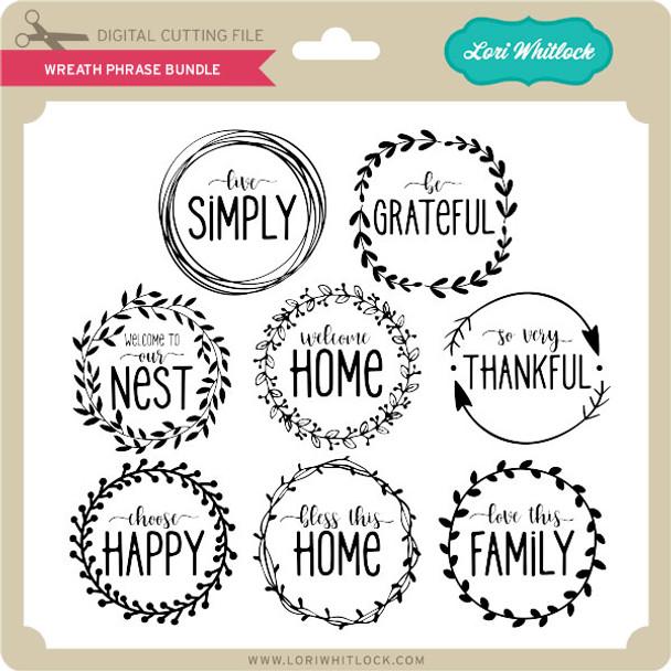 Wreath Phrase Bundle