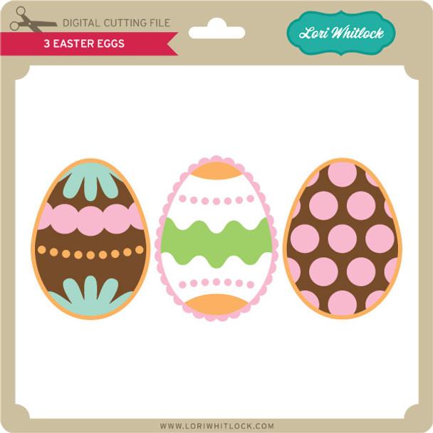 3 Easter Eggs