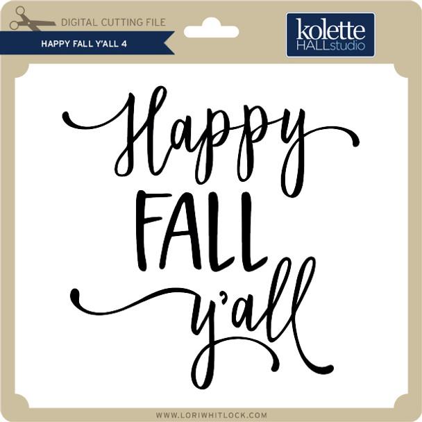 Happy Fall Y'All 4