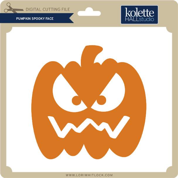 Pumpkin Spooky Face