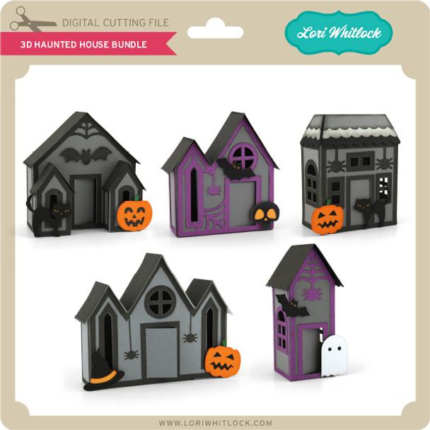 3D Haunted House Bundle