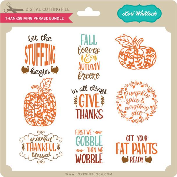 Thanksgiving Phrase Bundle