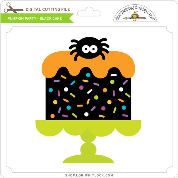 Pumpkin Party - Black Cake