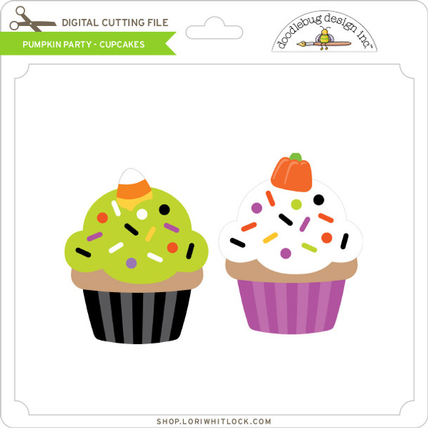 Pumpkin Party - Cupcakes