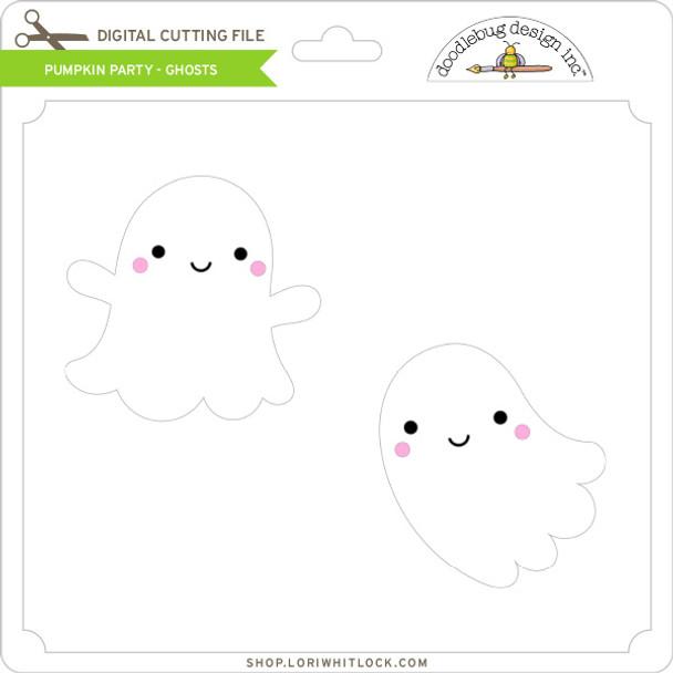 Pumpkin Party - Ghosts