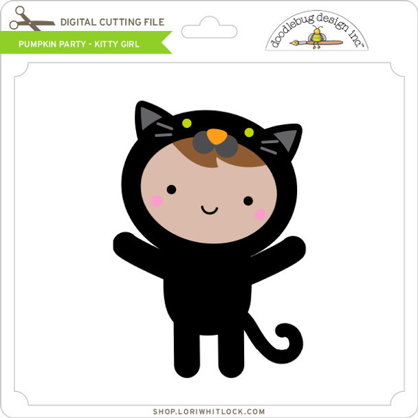 Pumpkin Party - Kitty Girl