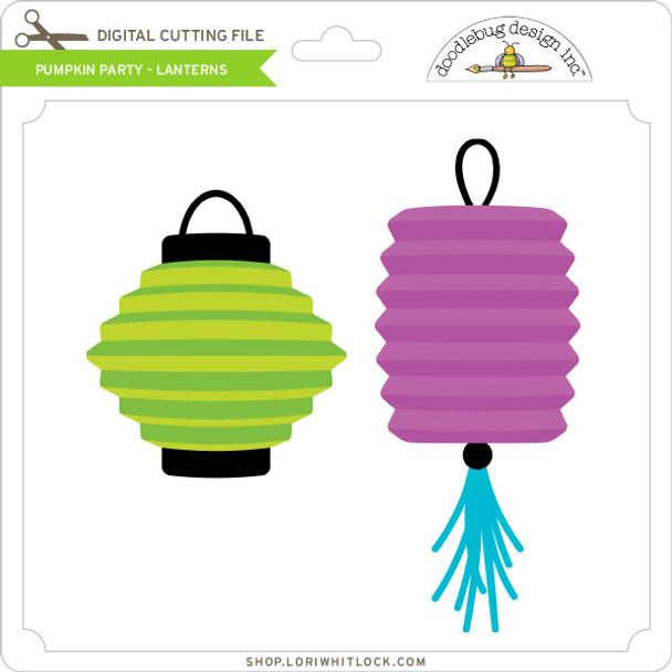 Pumpkin Party - Lanterns