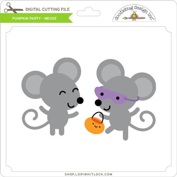 Pumpkin Party - Mouse