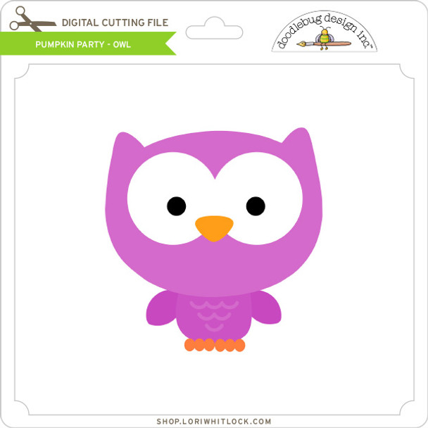 Pumpkin Party - Owl