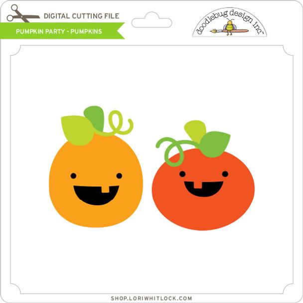Pumpkin Party - Pumpkins