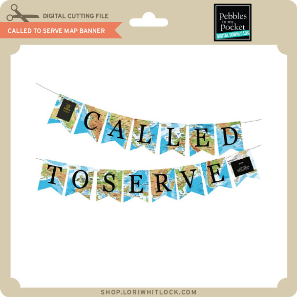 Called to Serve Map Banner