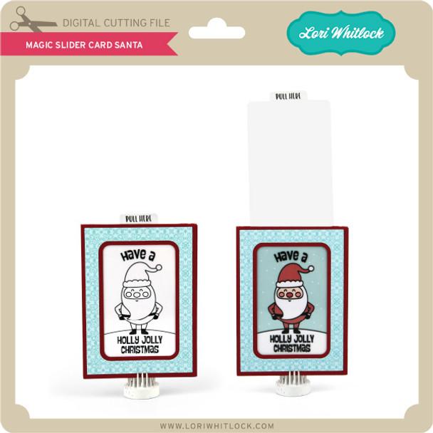 Magic Slider Card Santa