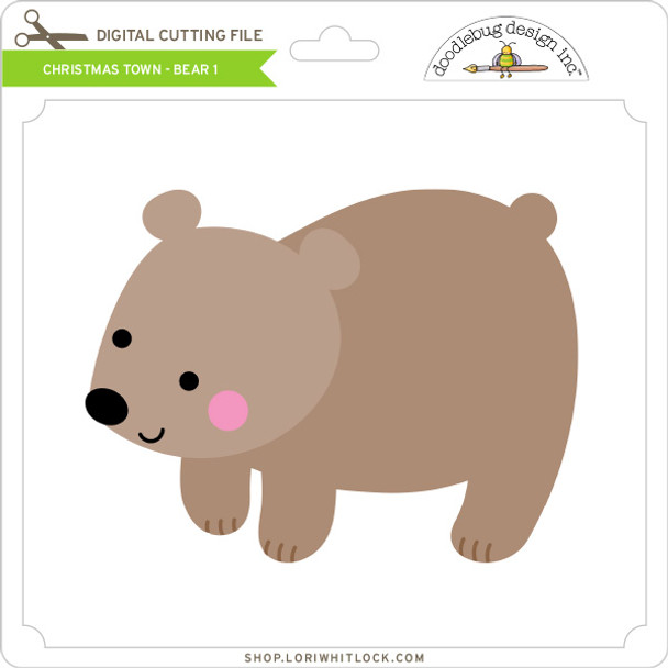 Christmas Town - Bear 1