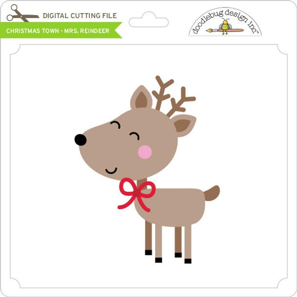 Christmas Town - Mrs Reindeer