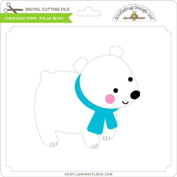 Christmas Town - Polar Bear 1