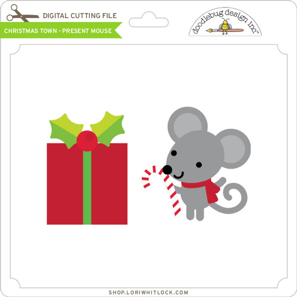 Christmas Town - Present Mouse