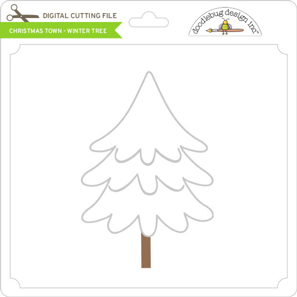 Christmas Town - Winter Tree