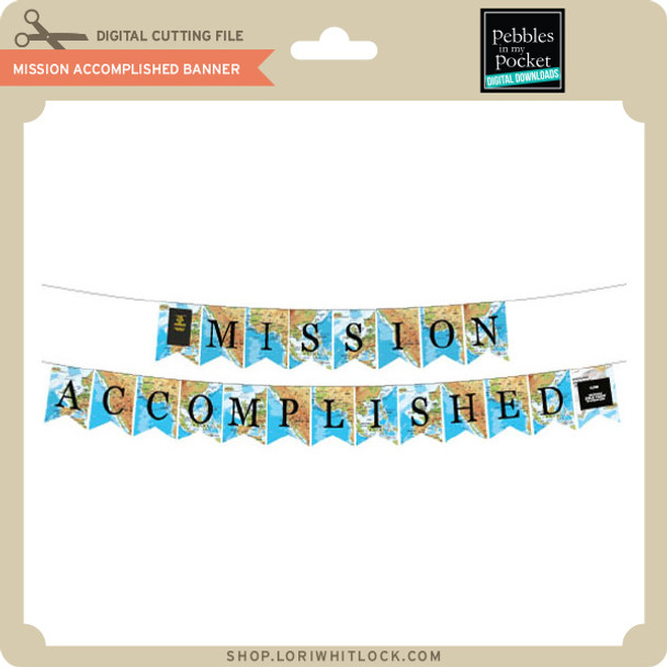 Mission Accomplished Map Banner