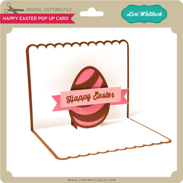 Happy Easter Pop Up Card