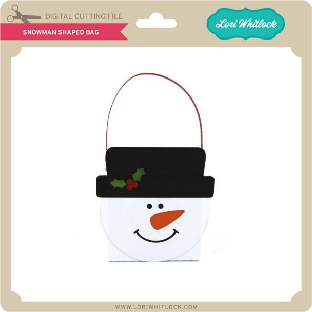 Snowman Shaped Bag