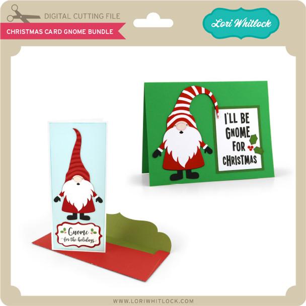 Christmas Card Gnome Bundle