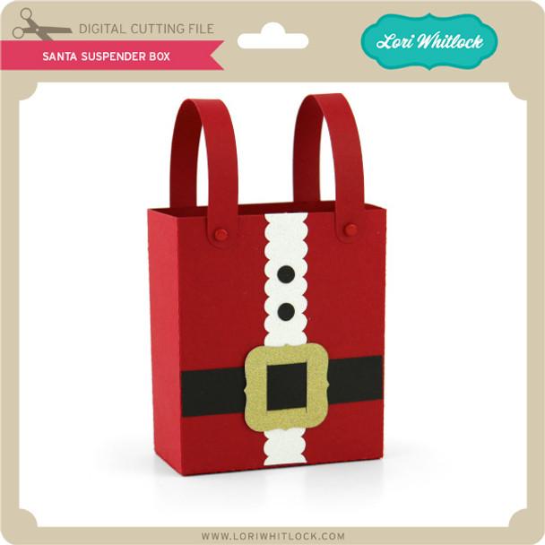 Santa Suspender Box