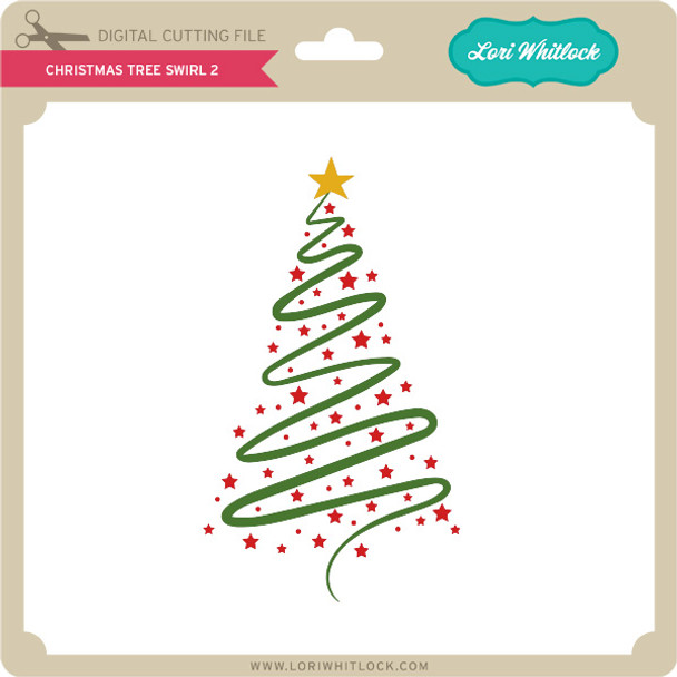 Christmas Tree Swirl 2