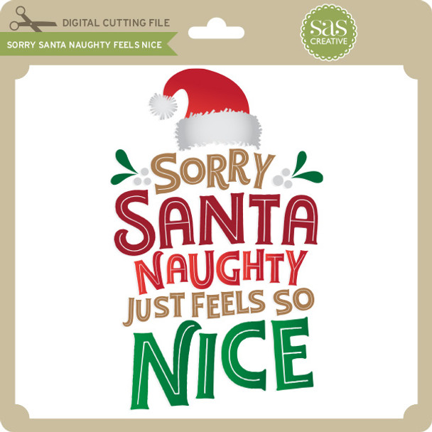 Sorry Santa Naughty Feels Nice