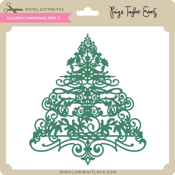 Flourish Christmas Tree 3